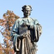 Dante statue in Meridian Hill park — Stock Photo