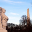 Martin Luther King Monument DC — Stock Photo #9022493