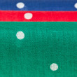 Red, blue and green handkerchiefs — 图库照片