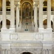Foto de Stock  : Interior of Library Congress in Washington DC