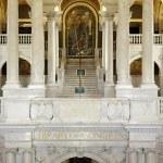 Interior of Library Congress in Washington DC — Stock Photo