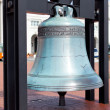 Replica freedom bell in front of Union Station — Stock Photo