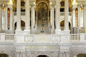 Interior of Library Congress in Washington DC — Stock Photo