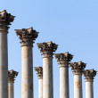 Capitol columns in National Arboretum DC - Stock Photo