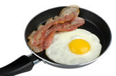 Egg and bacon — Stock Photo