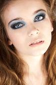 Mujer joven hermosa belleza. — Foto de Stock