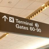 Terminal 3 — Stock Photo