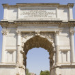 Arch of titus - Stock Photo