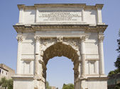 Arch of titus — Stock Photo