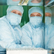 Royalty-Free Stock Photo: Two pharmaceutical factory workers