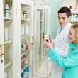 Medical pharmacy drug purchase — Stock Photo #10453313