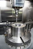 Industrial Metrology tool work — Stock Photo