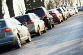 Traffic during the rush hour — Foto de Stock