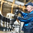 Experienced industrial assembler worker — Stock Photo #10672502