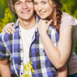 Happy young couple — Stock Photo #8073211