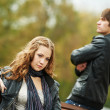 Young couple in stress relationship — Stock Photo #8732808