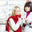 Medical pharmacy drug purchase — Stockfoto