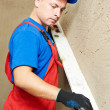 Plasterer at work — Stock Photo #8875977