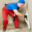 Plasterer at work — Stock Photo #8875996