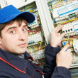 Stock Photo: Electriciat work