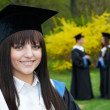 Happy graduation students — Stock Photo #9372645