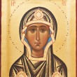 Religious Orthodox icon of God mother — Zdjęcie stockowe #9375322