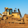 Stock Photo: Track-type bulldozer loader
