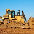 Track-type bulldozer loader — Stock Photo