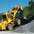 Heavy construction loader — Stock Photo #9696382
