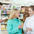 Stock Photo: Medical pharmacy drug purchase