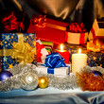 ano novo, Natal ainda vida — Foto Stock #8031216