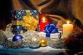 New Year, Christmas still life — Stock Photo