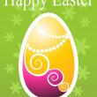 Easter card - Stock Photo