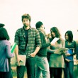 Group of Multicultural College Students — Stock Photo #10134664