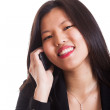 Young Chinese Woman Talking on Mobile — Stock Photo #10134691