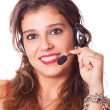 Cheerful Receptionist — Stock Photo #8008824
