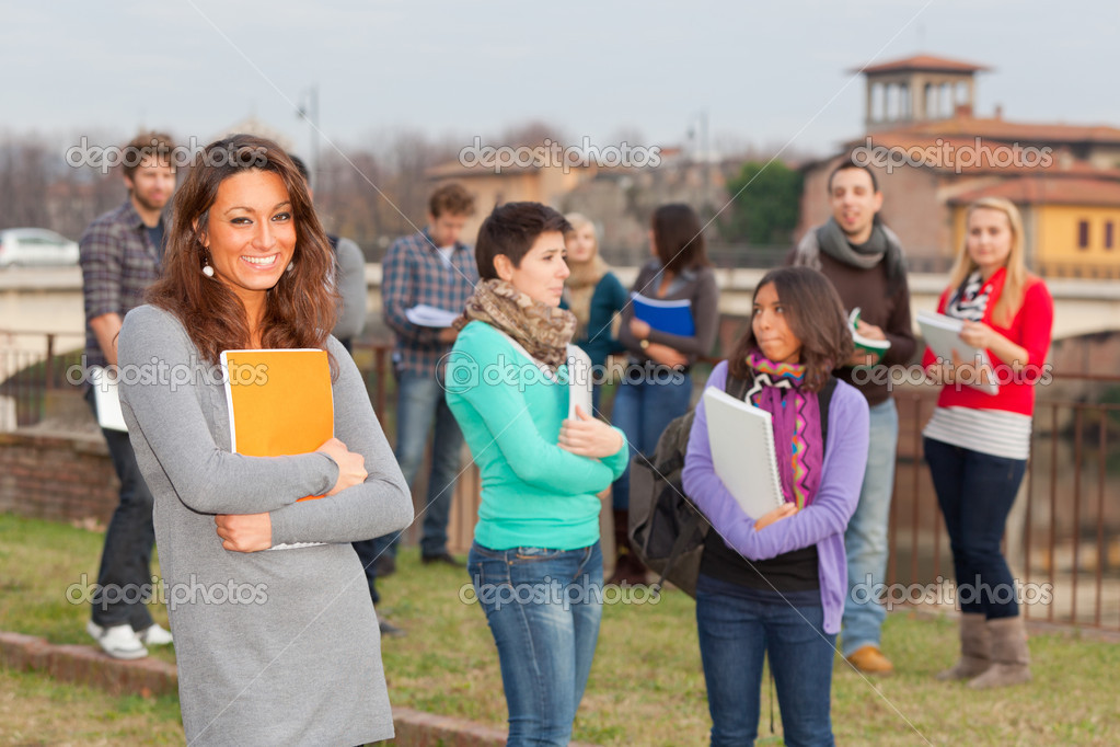 Multicultural College Students — Stock Photo #8264775