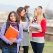 Group of Multiracial College Students — Stock Photo #9090796
