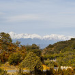 Stock Photo: Snow-capped Pyrenees
