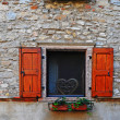 Italian Window — Foto de Stock