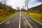 Straight Road — Стоковое фото