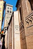 Cityscapes of Zaragoza — Stock Photo