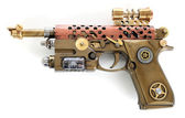 Steampunk Hand Cannon — 图库照片