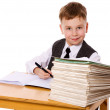 Kid studying — Stock Photo #10639496