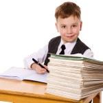 Kid studying — Stock Photo #10639496