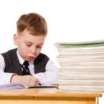 Kid studying — Stock Photo #8605624