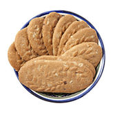 Cereal cookies — Stock Photo