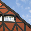 Stock Photo: Roof of bavarihouse
