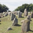 Stone viking graves — Stock Photo