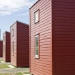 Camping houses — Stock Photo